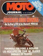 MOTO JOURNAL  414 Essai HONDA CB 900 F Bol d'Or BULTACO 125 Tour de France 1979