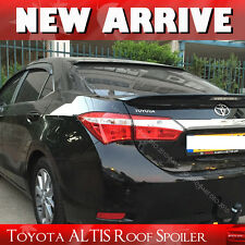 Unpainted FOR TOYOTA Corolla ALTIS Rear Roof Spoiler Wing 2014+ 4DR Sedan EUR§