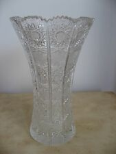 Bohemia Czech Queen Lace Crystal Vase