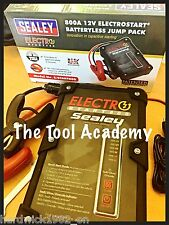 Sealey E/START800 ElectroStart Battery less Jump Pack Power Start 800A 12V + USB