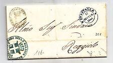 W642-REGIE PROV.DELL'EMILIA-GUASTALLA MILITARE 1860 X REGGIOLO