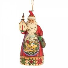 'Church Scene Santa' Hanging Ornament by Jim Shore