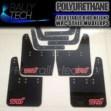 SUBARU IMPREZA RALLY TECH MUDFLAPS MUD FLAP GC8 WRX STI 2.5RS P1 GM GF 22B
