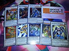 LOTTO 8 CARTE MOSTRO SYNCHRO in italiano ed inglese ORIGINALI YU-GI-OH!