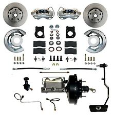 1970 Mustang Cougar Front disc brake conversion kit power auto transmission