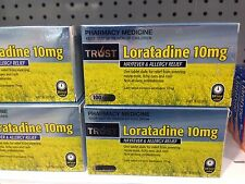 BEST PRICE! TRUST LORATADINE 10MG SAME AS CLARATYNE GENERIC *100* TABLETS