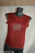 TOP TEE SHIRT  ONE STEP  TAILLE 40/L  TBE DEBARDEUR PULL LAINE