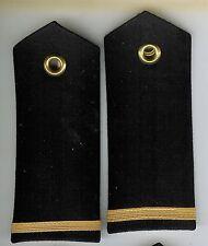 Pair Obsolete Canadian Navy Naval Cadet Shoulder Boards