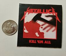 Miniature record album Barbie Gi Joe 1/6  Playscale  Metallica Kill em All Rock
