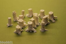 HO SCALE SCENERY TREE STUMPS-DEAD STUMPS RESIN KIT