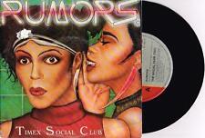 """TIMEX SOCIAL CLUB - RUMORS - 7"""" 45 VINYL RECORD w PICT SLV - 1986"""