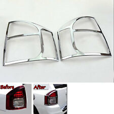 2pcs Chrome ABS Rear Tail Lamp Light Cover Trim Frame for JEEP COMPASS 2011-2015