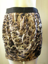 H & M skirt  Euro 36 size Pleated/puff design multi coloured abstract pattern
