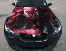 Vinyl Car Hood Full Color Graphics Decal Carnage The Amazing Spyder-Man Sticker