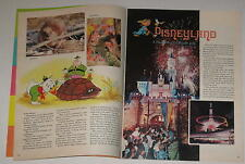 October, 1976 Disney Magazine Disneyland, Comics, Debbie Reynolds, Games