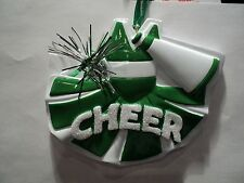 "KSA "" CHEER UNIFORM ~ GREEN"" Ornament ~ NEW  ~ GREAT GIFT IDEA"