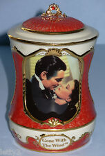 RARE Gone with the Wind FIERY EMBRACE Ardleigh Elliott Revolving Music Box #1