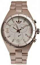 New Adidas Cambridge Chronograph Rose Gold Aluminum Date Watch 45mm ADH2575 $150