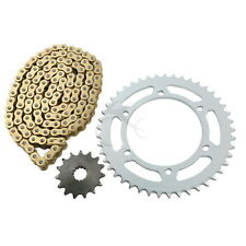 Gold O-Ring Chain and Sprocket Kit For Yamaha FZS600 FAZER 5DM/5RT 1998-2003 00
