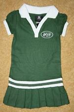 TODDLER GIRLS NFL TEAM APPAREL NEW YORK JETS POLO DRESS - Size 4T (NWT)