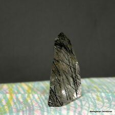"2.00"" Black Tourmaline Included Quartz Crystal Shcorl Tourmalated Point, Tmq32"