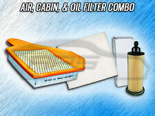 AIR, CABIN, & OIL FILTER COMBO FOR 2014-2016 RAM CARGO VAN C/V 3.6L ONLY