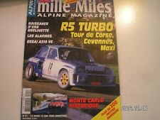 ** Alpine magazine n°41 A310 V6 1977 / Monte Carlo Historique