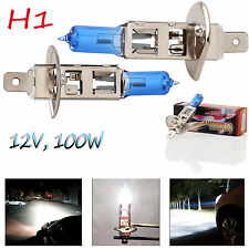 2X LED Car Xenon HID H1 55W 100W Headlights 6000K White Fog Light 12V Lamp Bulbs