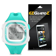2X EZguardz LCD Screen Protector Cover HD 2X For Garmin Forerunner 15 Small