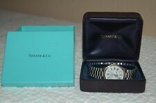 Vintage Tiffany & Co. Portfolio Seabourn Club Stainless Steel & Gold Tone Watch
