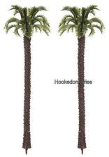Diorama Tree Palm set of 2 Dollhouse Miniature Fairy Garden,Crafts -27 3700-27