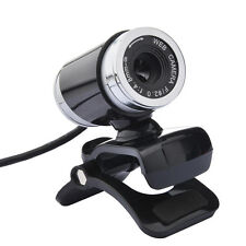USB 12MP HD Webcam Web Cam Camera With Mic Microphone for Laptop Desktop PC Clip