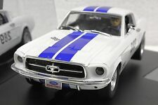 CARRERA 27450 FORD MUSTANG GT 289 NEW EVOLUTION 1/32 SLOT CAR IN DISPLAY CASE