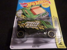 HW HOT WHEELS 2015 HW OFF-ROAD #104/250 AERO POD HOTWHEELS GREEN VHTF