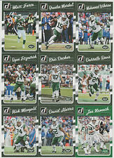 2016 NY JETS 40 Card Lot w/ DONRUSS Team Set 26 TRAINING CAMP Players + NAMATH !