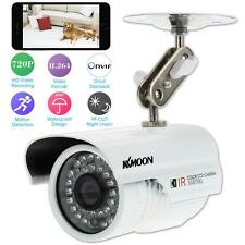 KKMOON HD H.264 720P Security CCTV IP Camera 1.0MP IR-CUT Waterproof White Q7M2