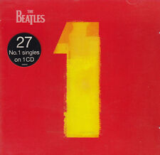 THE BEATLES CD 27 N. 1 SINGLES ON 1 CD APPLE NEW NUOVO SEALED SIGILLATO