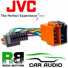 JVC KS-FX100 Model Car Radio Stereo 16 Pin Wiring Harness Loom ISO Lead Adaptor