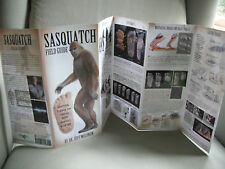 Sasquatch Bigfoot Field Guide Dr. Jeffery Meldrum