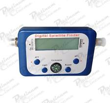 Digital LCD Satellite Finder Satfinder Signal Strength Meter Sky Dish Freesat