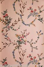 """Vintage Historic Wallpaper - """"New England Floral"""" by Waterhouse Wallhangings"""