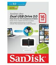 Sandisk Ultra 16GB OTG Dual USB Pendrive WITH 5 YEARS WARRANTY..