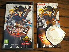 Jeu Yu-Gi-Oh! 5D'S TAG FORCE 4 pour PSP (Sony) Complet boite + notice