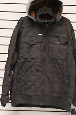 MENS Big & Tall Size 5X ~ROCAWEAR DETACHABLE HOOD BOMBER JACKET