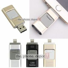 64G USB Flash Drive Disk OTG Device Memory Stick For iPhone IOS iPad Android UK