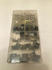 170 pc U / Speed / Spine / Panel CLIPs AND Phillips SCREWS - DASH DOOR TRIM SEAT