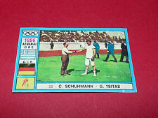N°22 SCHUHMANN TSITAS  PANINI OLYMPIA 1896 - 1972 JEUX OLYMPIQUES OLYMPIC GAMES