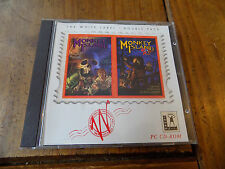 Monkey Island Double Pack Inc Monkey Island & Monkey Island 2 PC-CD Rom