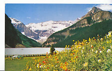 Canada Postcard - Lake Louise - Mount Lefroy and Victoria Glacier   XX354