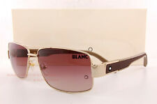 Brand New MONT BLANC Sunglasses MB 460 460S 28F Shiny Gold/Brown Gradient
